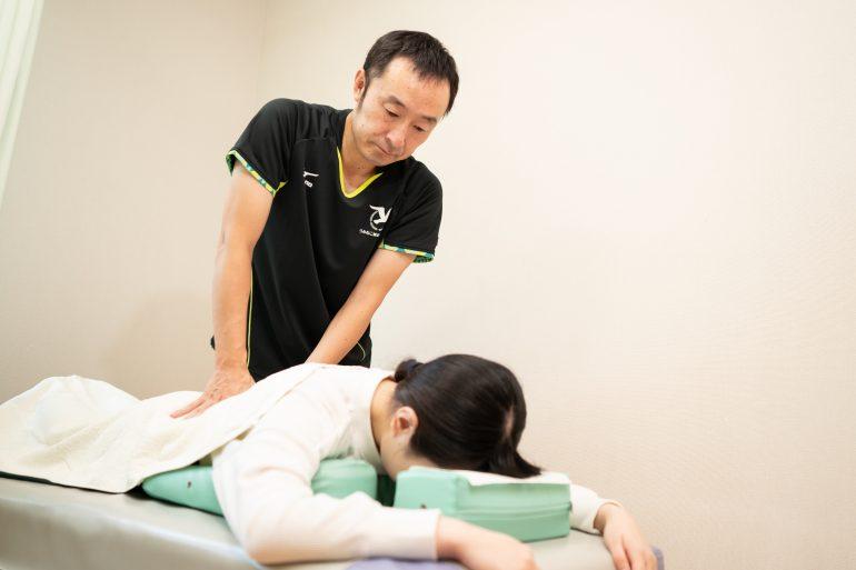 国家資格者による治療|宮古市うみねこ鍼灸接骨院